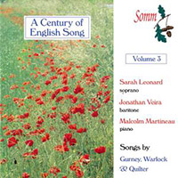 A Century of English Song Volume 3 (2001)